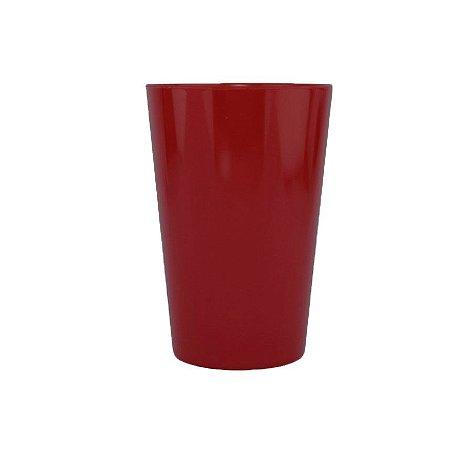 Copo Caldereta Vermelho Bordô - 600ml