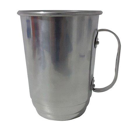Caneca de Alumínio Para Transfer - 700ml Prata