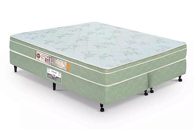 Colchão Castor Espuma D33 Sleep Max Euro Casal - 1,28x1,88x0,25