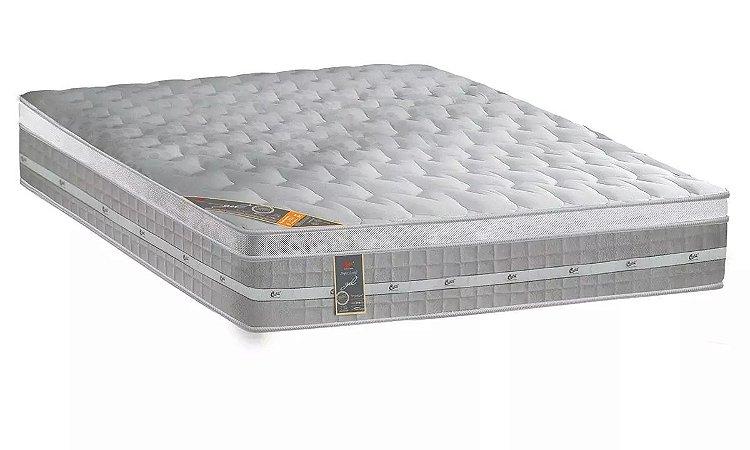 Colchão Castor de Molas Pocket Premium Gel Euro Pillow Casal - 1,28x1,88x0,32