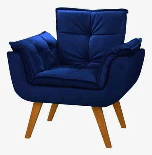 Poltrona Decorativa Topalla 01 lg Azul