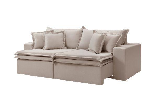Sofa Retrátil Belino 230 Cm