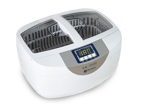 Lavadora Ultrassônica em Inox 2,5L - Evoxx