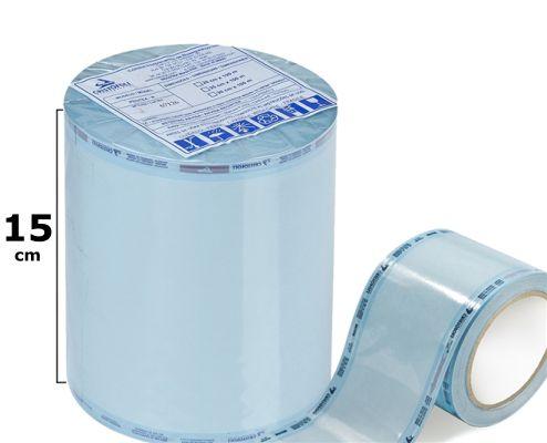 Embalagem Tubular para Esterilização Protex-R - 15CM X 100M - Cristófoli