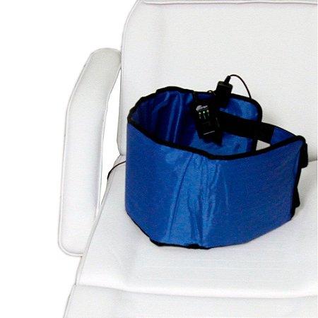Manta Térmica Abdominal 27 x 97 Azul com Infravermelho - Estek