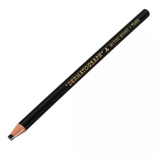 Lápis Dermatográfico Mitsubishi para Micropigmentação - GR Colors
