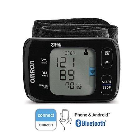 Monitor de Pressão de Pulso com Bluetooth HEM-6232T - OMRON