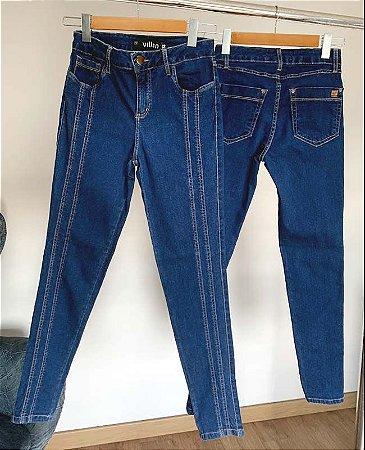 calça cropped luma villon jeans