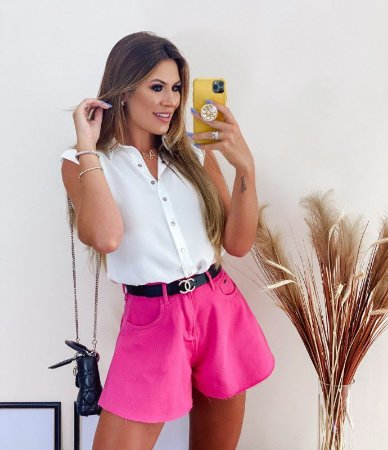 Short Godê Emanuela pink