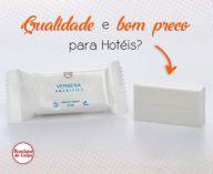 SABONETE VEGETAL PARA HOTELARIA - CAIXA COM 200 UNIDADES