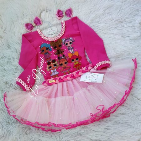 CONJUNTO LOL SURPRISE LUXO