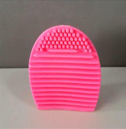 Esponja de silicone para limpeza de pincéis