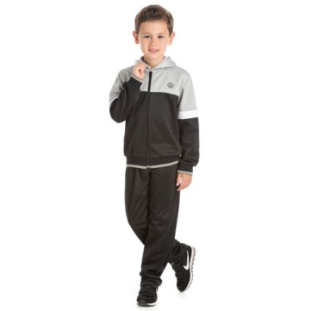 Conjunto jaqueta NBA c/ recorte touca c/ calça NBA