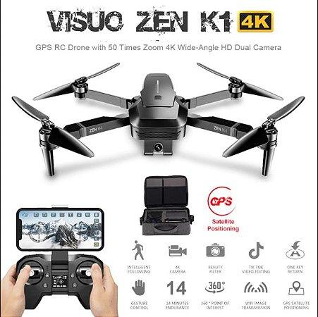 Drone Visuo Zen K1 5g Wifi Fpv Gps Brushles 4k