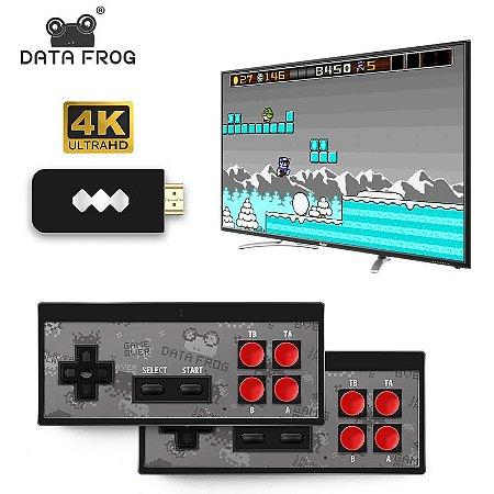 handheld de jogo 620 clássico 8 bits jogos game console com gamepad duplo