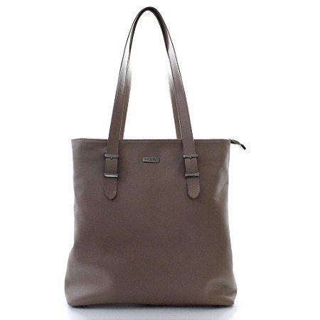 Bolsa Feminina PPOETA Shopping Bag Couro Fendi