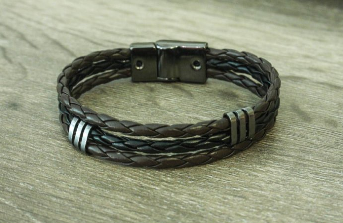 Pulseira Black and Brown