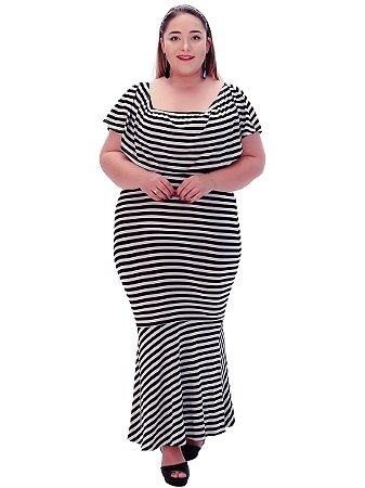 Vestido 4 em 1 plus size longo lançamento