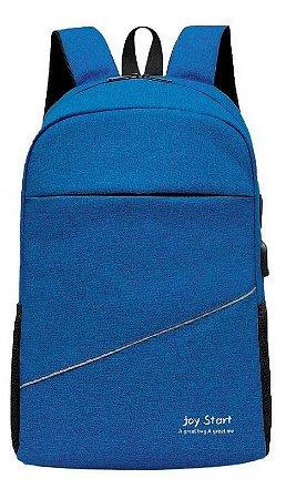 Mochila notebook viagem ou escolar carregador usb