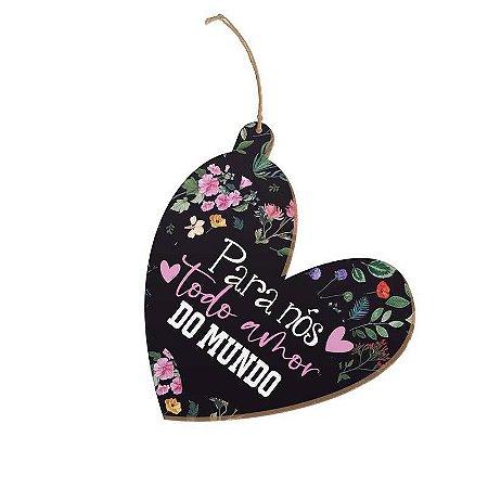 Tag Coração Para nós todo amor do mundo