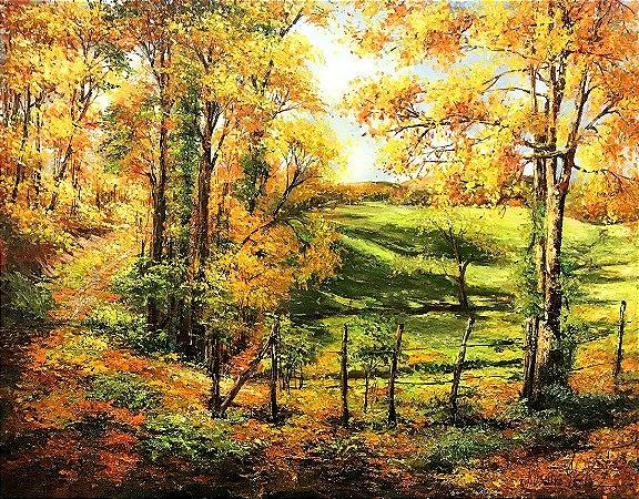 Tela Floresta de Outono - Rosane Theisen