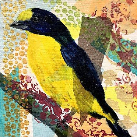 Tela Pássaros II - Ercy Zendim
