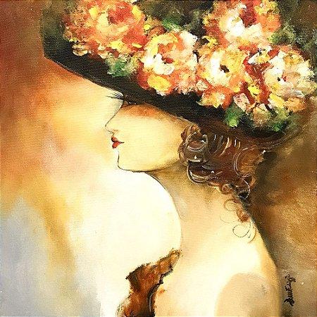Tela Flores em Você - Luiza Matilde