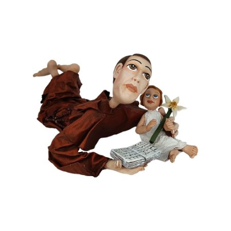 Escultura Santo Antônio - Fabíola Cornutti