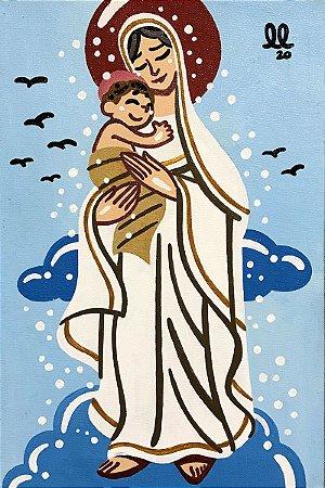 Tela Nossa Senhora das Neves - Lucas Lourenço