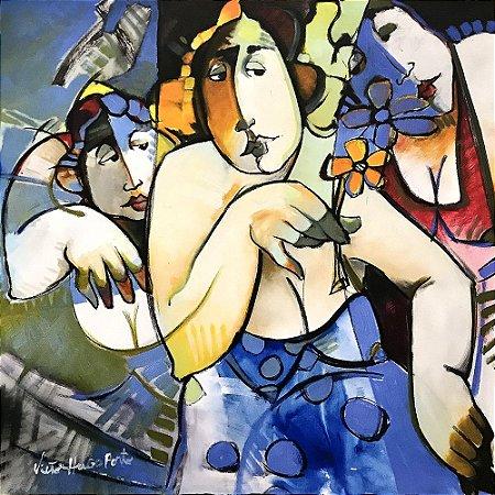 Giclê Flores da Amizade - Victor Hugo