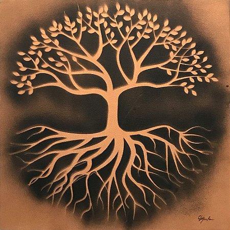 Tela Árvore da Vida Luz  - Marlene Dal Zotto
