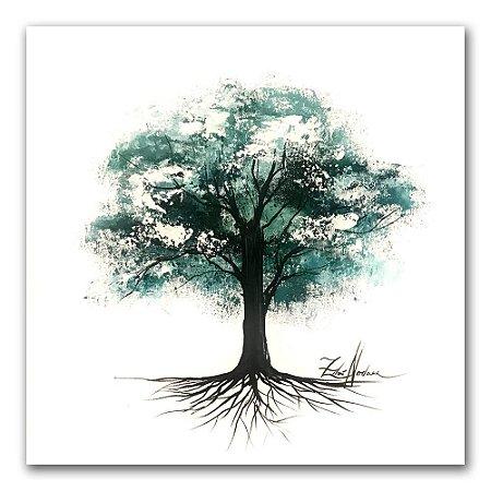 Tela Árvore da Serenidade II - Zilá Nodari
