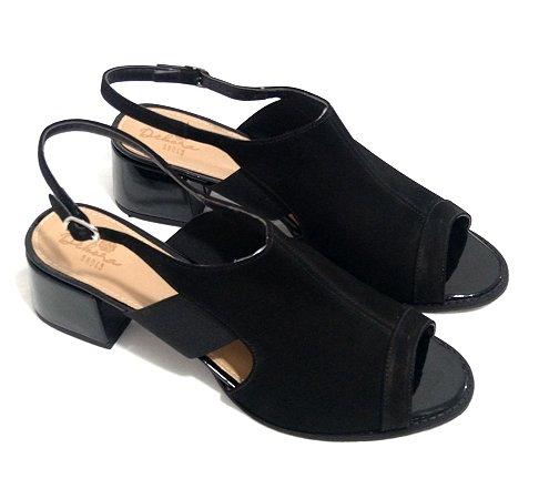 Sandália San Boot Preta