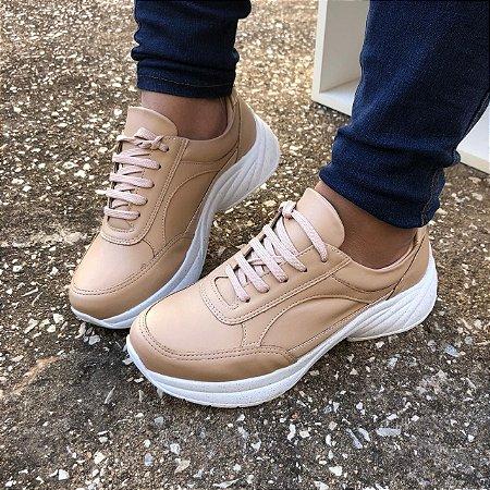 Tênis Sneaker Nude