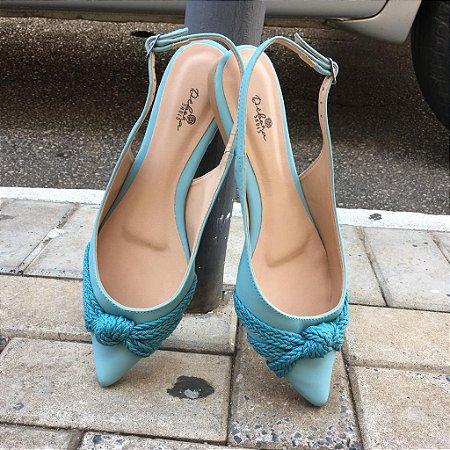 Chanel Rasteiro Nó Azul Candy