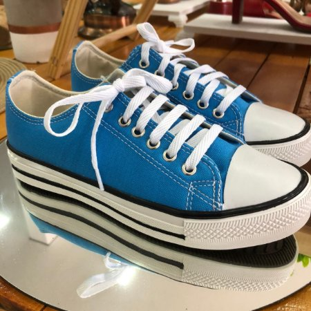 Tênis casual Azul