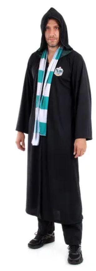 Fantasia Draco Malfoy Sonserina Adulto - Harry Potter
