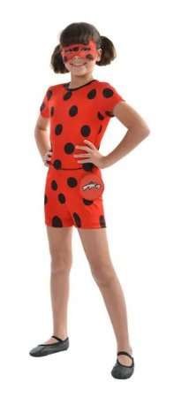 Fantasia Ladybug Infantil Curta