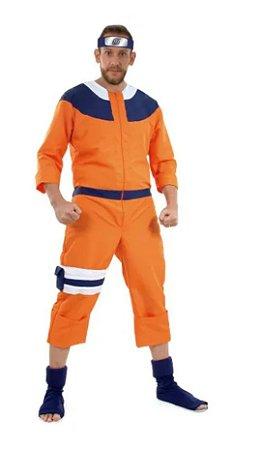 Fantasia Naruto Adulto Luxo