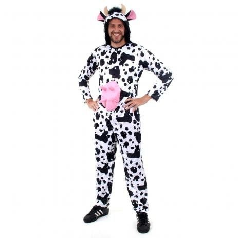Fantasia Vaca Masculino Adulto - Sula