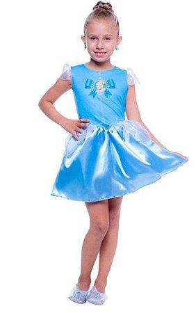 Fantasia Cinderela Pop 110703 Infantil
