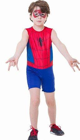 Fantasia Homem Aranha Pop Infantil