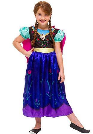 Fantasia Anna Luxo Infantil