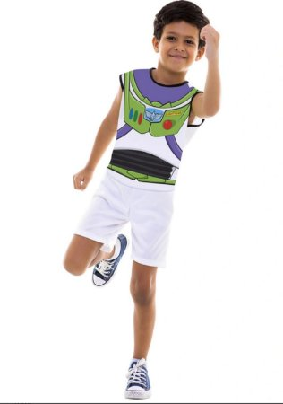 Fantasia Buzz Pop Regata Infantil
