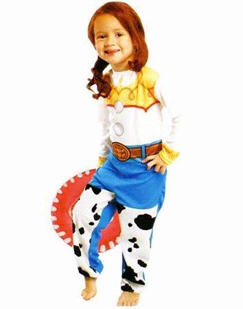 Fantasia Jessie Longa Toy Story Infantil