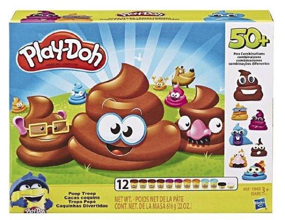 Conjunto de Massa de Modelar -Play-Doh Caquinha Divertida - Hasbro E5810