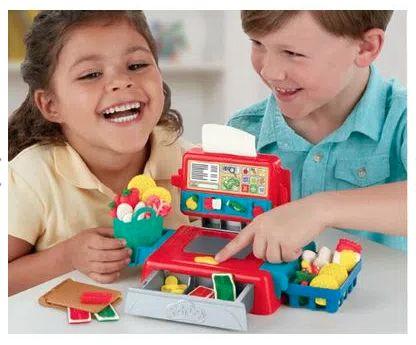 Conjunto de Massa de Modelar - Play-Doh Caixa Registradora Com Som - Hasbro E6890