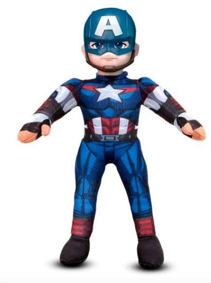 Boneco Capitão América - My Puppet - Avengers - Marvel