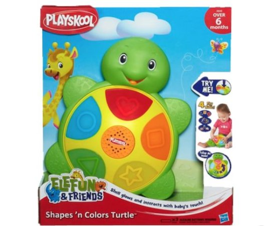 Playskool Elefun E Friends Tartaruga Das Cores E Formas - Hasbro