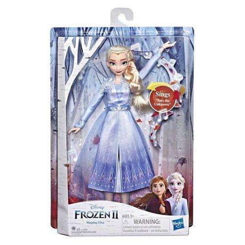 Boneca Eletrônica - Disney - Frozen 2 - Elsa - Hasbro - E5498